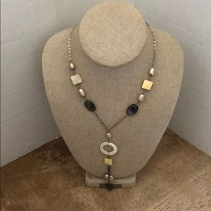Jewelry - Necklace sterling silver 925 and pearl 🍒